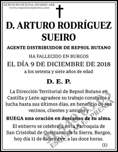 Arturo Rodríguez Sueiro
